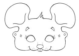 Maus Maske